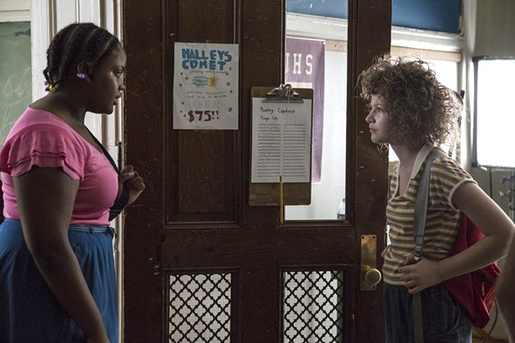 "(Left) Richmond actress Nena Daniels, playing here opposite of the film's star, Kira McLean, is one of the bright spots of the coming-of-age comedy, ""Permanent."""