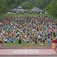 A Highly-Attended Free Yoga Event Is Moving From Carillon After City Fee