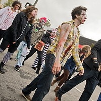 Fourteenth Annual Richmond Zombie Walk in Carytown