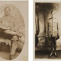 在离开维吉尼亚图书馆之前,请看一组令人回忆起的照片,这些照片描绘了维吉尼亚出生的非裔美国人在第一次世界大战中的退伍军人。