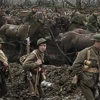 """彼得·杰克逊的彩色,详尽的第一次世界大战医生""""他们不会变老""""会让你大吃一惊。"""