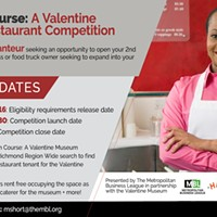 The Main Course: A Valentine Museum Restaurant Competition