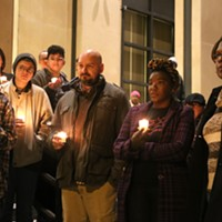 Stoney, McEachin and community mark Transgender Day of Remembrance in two ceremonies
