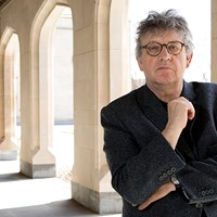 Poet Paul Muldoon at Chop Suey Books