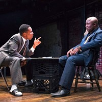 "Two Brothers Re-enact the Shooting of Lincoln in the Pulitzer-winning Play ""Topdog/Underdog"""