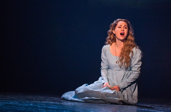 Mary Kate Moore plays Fantine in the production, which runs Oct. 23-28 at Altria Theater.