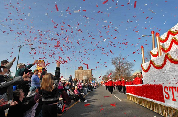 Dominion Energy Christmas Parade, Dec. 1.
