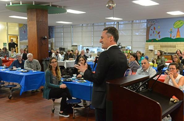 Superintendent Jason Kamras - SCOTT ELMQUIST
