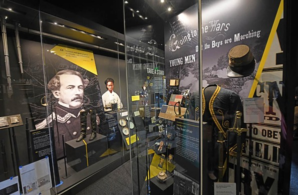 The American Civil War Museum, also with sites in Court End and in Appomattox, has the world's largest museum collection of Confederate - memorabilia. - SCOTT ELMQUIST
