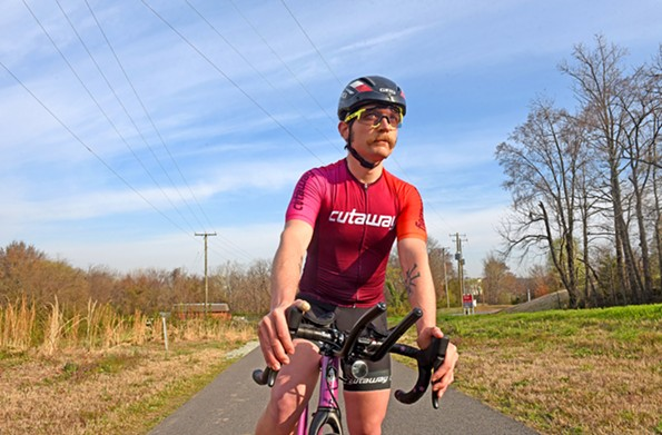 Richmond biker Brantley Tyndall will line up alongside 85 other contenders in Astoria, Oregon, for the Trans Am Bike Race to Yorktown, arguably the most ambitious of its kind in the world. Rule No. 1 is you can't receive any support. - SCOTT ELMQUIST