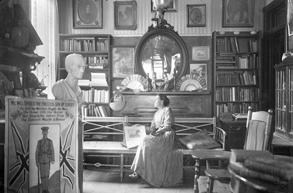 The Serendipity Shop was an emporium of American and imported items, at 117 N. Adams St. Its proprietor was Margaret May Dashiell, a New Orleans native, who was well-known for her drawings and watercolors of vernacular Richmond scenes. - THE VALENTINE