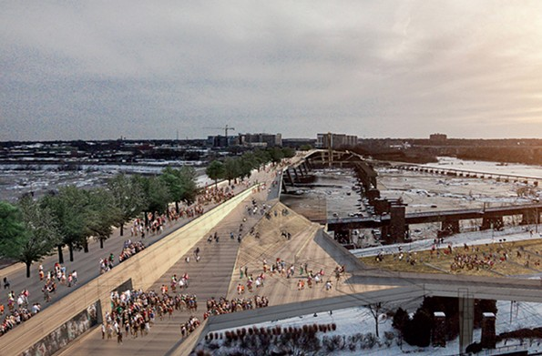 A rendering of the BridgePark plan. - RICHMOND BRIDGEPARK FOUNDATION