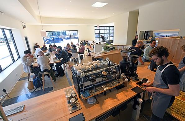 Blanchard's Coffee - SCOTT ELMQUIST/FILE