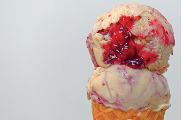 Charm School Social Club treats vegan ice creams as more than just an afterthought, with flavors like peanut butter and jelly. - SCOTT ELMQUIST/FILE