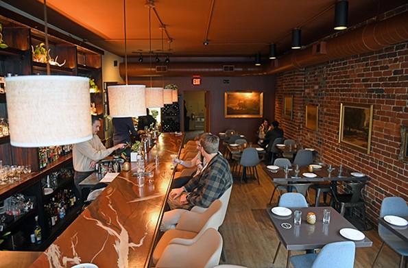 An interior of the restaurant. - SCOTT ELMQUIST