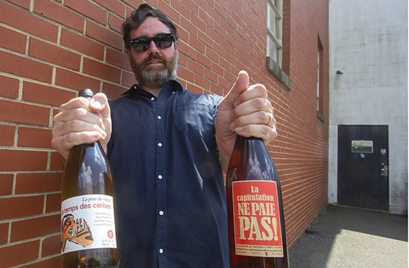 The founder of Richmond wine distributor Plant Wines, Steven Plant. - SCOTT ELMQUIST