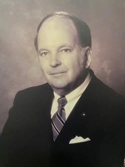 Former Lt. Gov. John H. Hager - WENDELL POWELL STUDIO