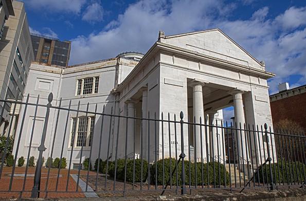 The Monumental Church at 1224 E. Broad St. - SCOTT ELMQUIST