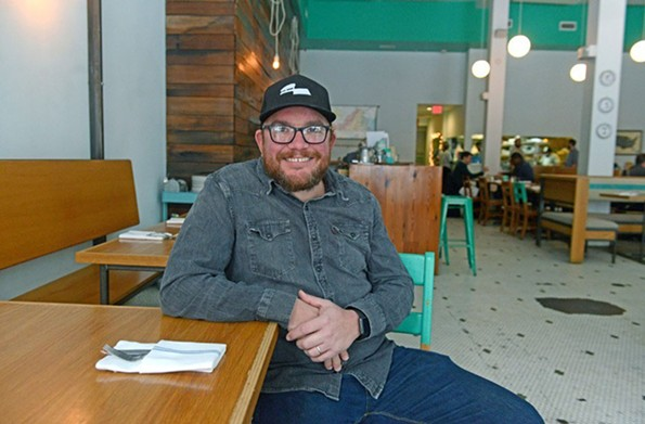 Jason Alley, Richmond's provisional policy advisor for restaurants and small business. - SCOTT ELMQUIST/FILE
