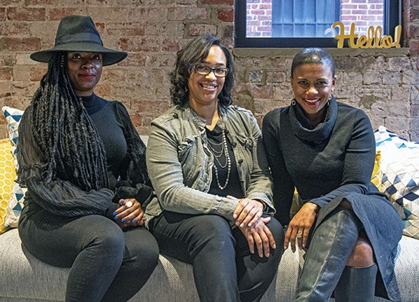 Melody Short. Rasheeda Creighton and Kelli Lemon formed the Jackson Ward Collective to help connect Black business owners to each other and resources like workshops, mentorships and networking events. - SCOTT ELMQUIST
