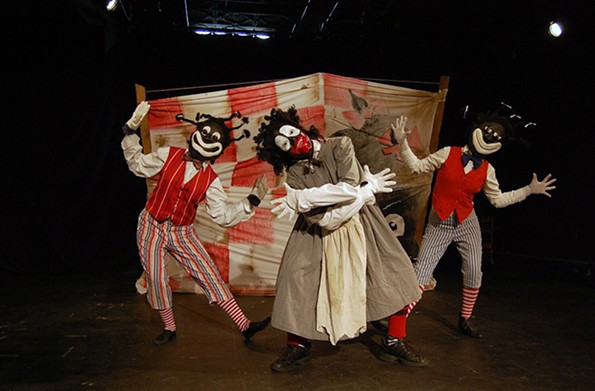 "The Conciliation Project's 2011 production of  ""Uncle Tom: Deconstructed."""