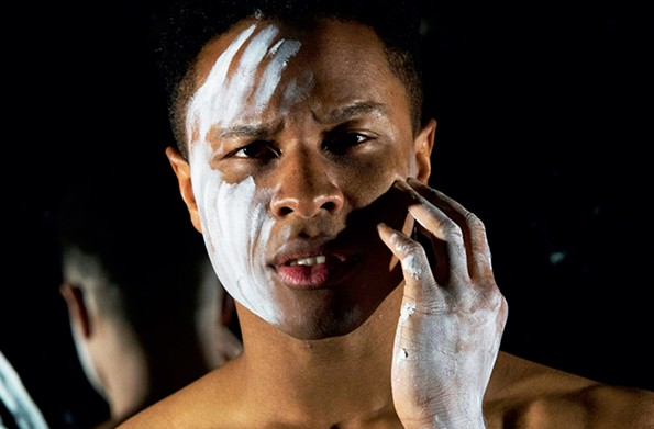"Jamar Jones starred in TheatreLab's 2019 production of ""An Octoroon."" - TOM TOPINKA"