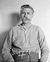 """Floyd Allen, executed 1913 for the Hillsville """"Courthouse Massacre."""""""