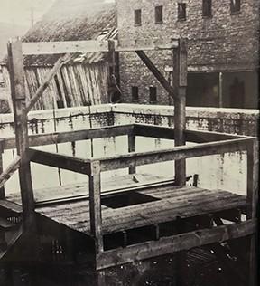 Staunton and Augusta County gallows, pre-1908.