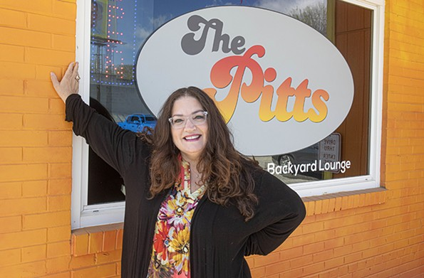 The Pitts BBQ Joint and Locker Room owner Lisa Ann Peters says she's applied to as many loan and grant programs as possible during the pandemic. - SCOTT ELMQUIST