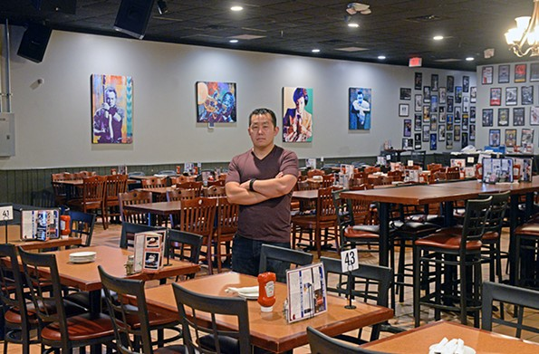 Restaurateur Kevin Liu, shown here inside the Tin Pan venue, is in the process of rehiring for the imminent reopening of his Carytown cocktail bar, The Jasper. - SCOTT ELMQUIST/FILE