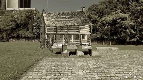 An illustration of Lumpkin's Jail. - HIDDEN IN PLAIN SITE