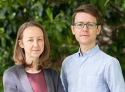 Directors Hannah Ayers and Lance Warren