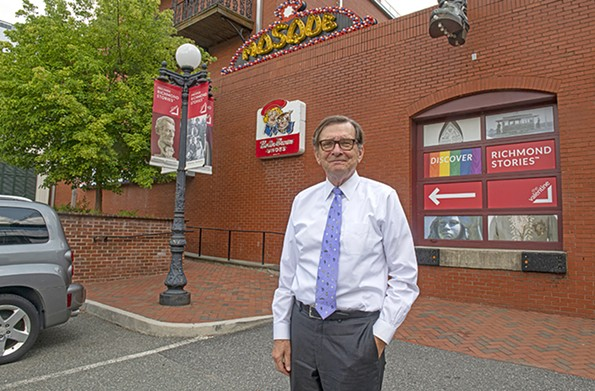 """Bill Martin, director of the Valentine, says that """"Richmond's attic"""" is undergoing a Marie Kondo-ing. Construction on an addition will begin by the end of 2022. - SCOTT ELMQUIST"""