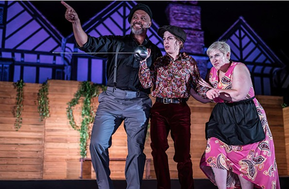 """""""Twelfth Night"""" with Foster Solomon, Emily Berry and Erica Hughes. - DAVE PARRISH PHOTOGRAPHY"""