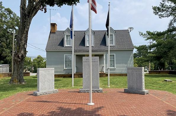 Town war memorial on King Street. - SCOTT ELMQUIST