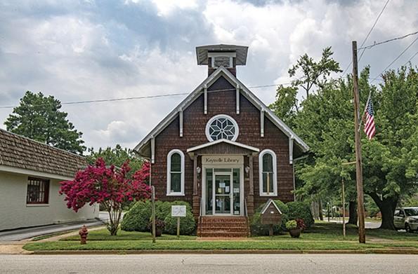 The Keysville Library. - SCOTT ELMQUIST