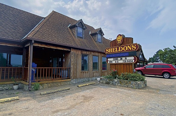 Sheldon's Motel and Restaurant. - SCOTT ELMQUIST