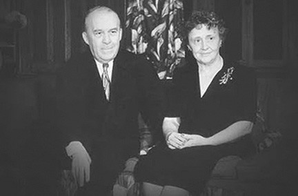 Richard S. Reynolds, who founded Reynolds Metals in 1928, and his wife Julia Louise Reynolds. - RICHARD S. REYNOLDS FOUNDATION