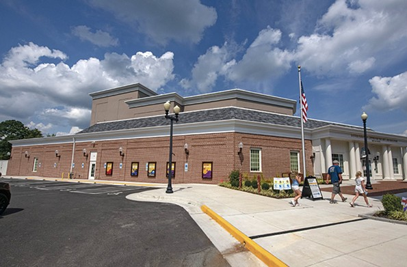 The newly built 20,800-square-foot Perkinson Center for the Arts & Education in Chester features a theater that can seat about 350, an art gallery, classrooms and other spaces for public and private events. - SCOTT ELMQUIST