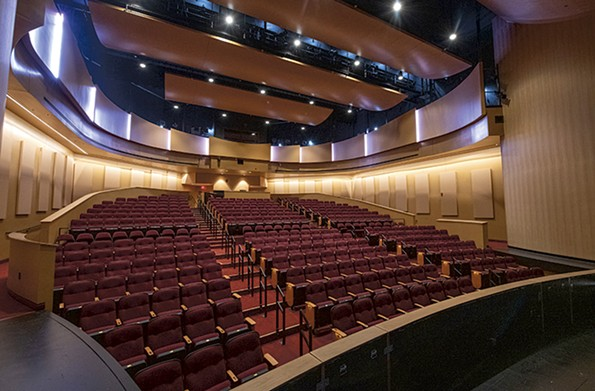 The Jimmy Dean Theater has 316 fixed seats and can go up to roughly 350 with added chairs. - SCOTT ELMQUIST