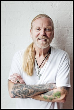 Gregg Allman performs in April.