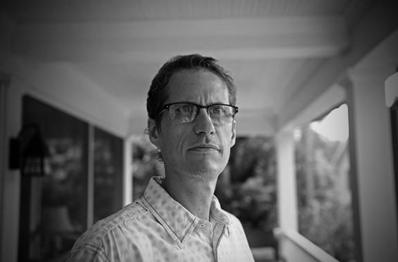 Local author Dean King.