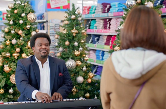 Comedian Craig Robinson took part in one of the Wal-Mart campaigns.