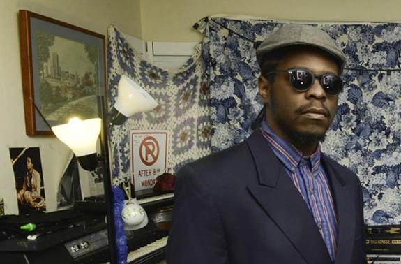 Multi-instrumentalist Devonne Harris, or DJ Harrison, has drawn the curiosity of major rap names. - SCOTT ELMQUIST