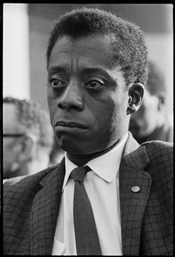 Writer and social critic, James Baldwin.