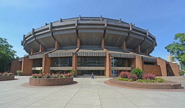 The Coliseum is once again under consideration for redevelopment. - SCOTT ELMQUIST