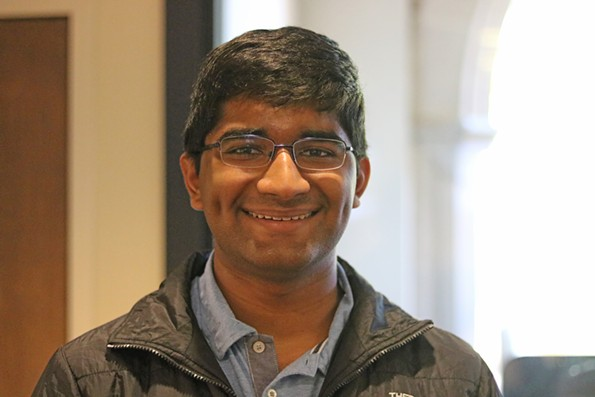 Suraj Bala studies biochemistry at University of Richmond. - CHARLOTTE RENE WOODS