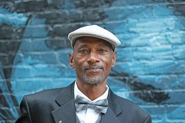 Jesse Montague, who is 62, spent 40 years in prison, and Nov. 7 will be his first time voting after having his voter rights restored. - CHARLOTTE RENE WOODS