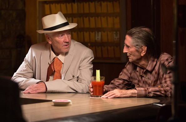 """A scene from """"Lucky,"""" which will be screening as part of a Harry Dean Stanton tribute at this year's festival from March 13 to 18. - STEFANIA ROSINI/MAGNOLIA PICTURES"""