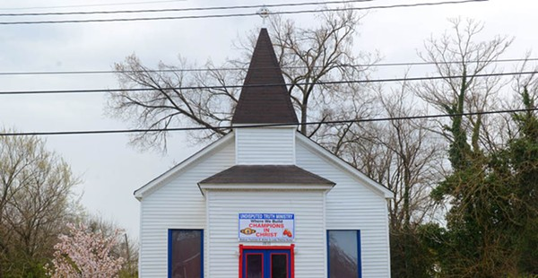 Upfront Faith: The Visually Compelling Welcome of Richmond's Streetfront Churches